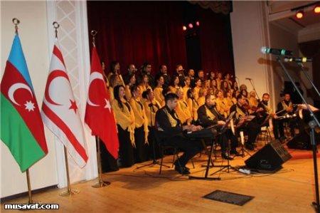 Quzey Kıbrıs sənətçilərindən Bakıda möhtəşəm konsert / FOTOLAR