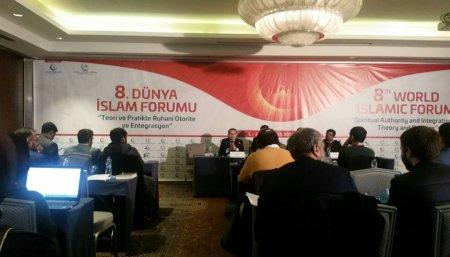 Faiq Ələkbərli İstanbulda 8-ci Dünya İslam Forumuna qatılıb-FOTOLAR